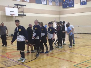 NS Boys at goalball nationals 2016