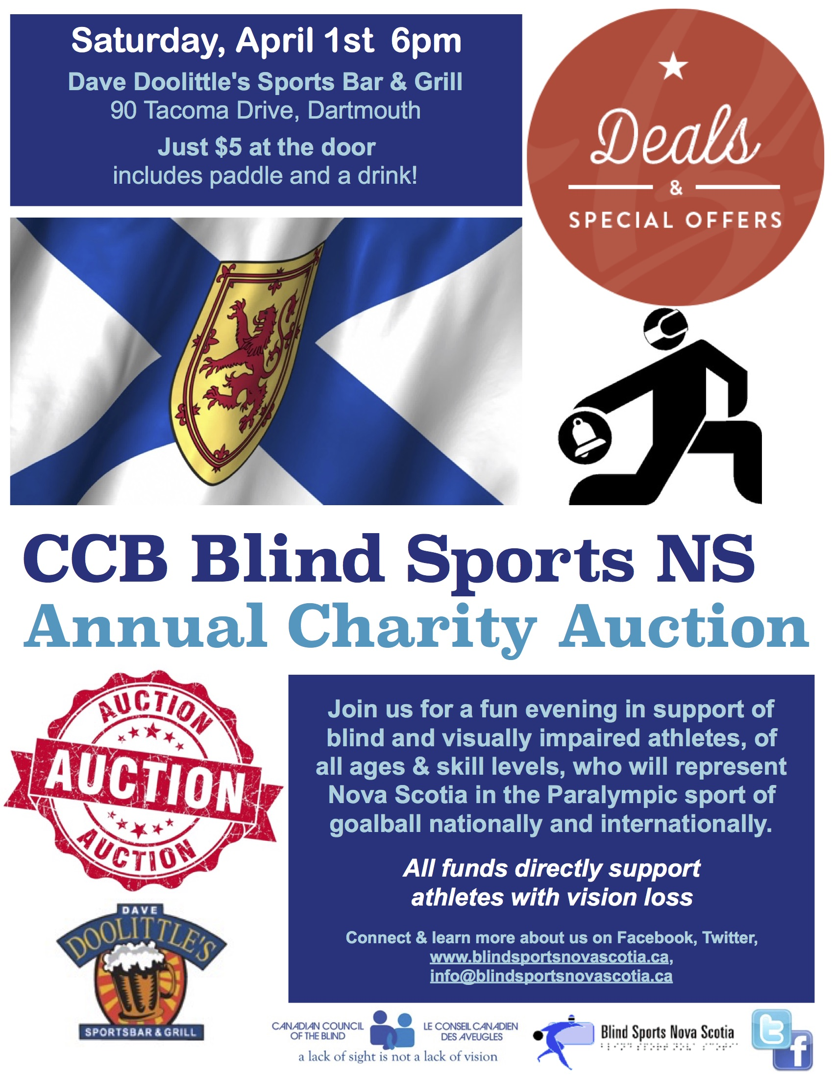 2017 BSNS AUCTION POSTER