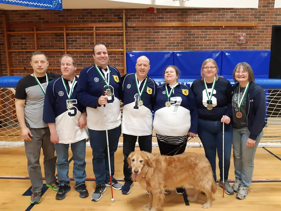 NS ship recs, coaches, team golden guide dog Lennie